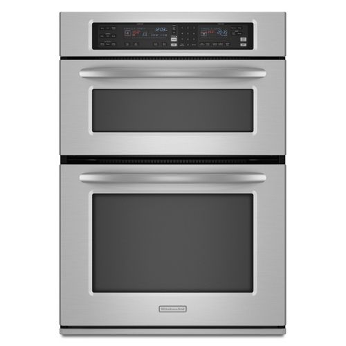 Kitchenaid 26 75 Inch Convection Microwave Wall Oven Combo