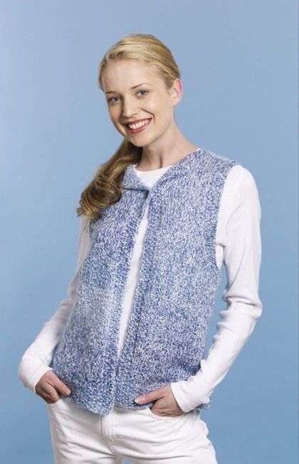 Knitted Quick And Easy Vest Pattern Knitting Ideas Pinterest