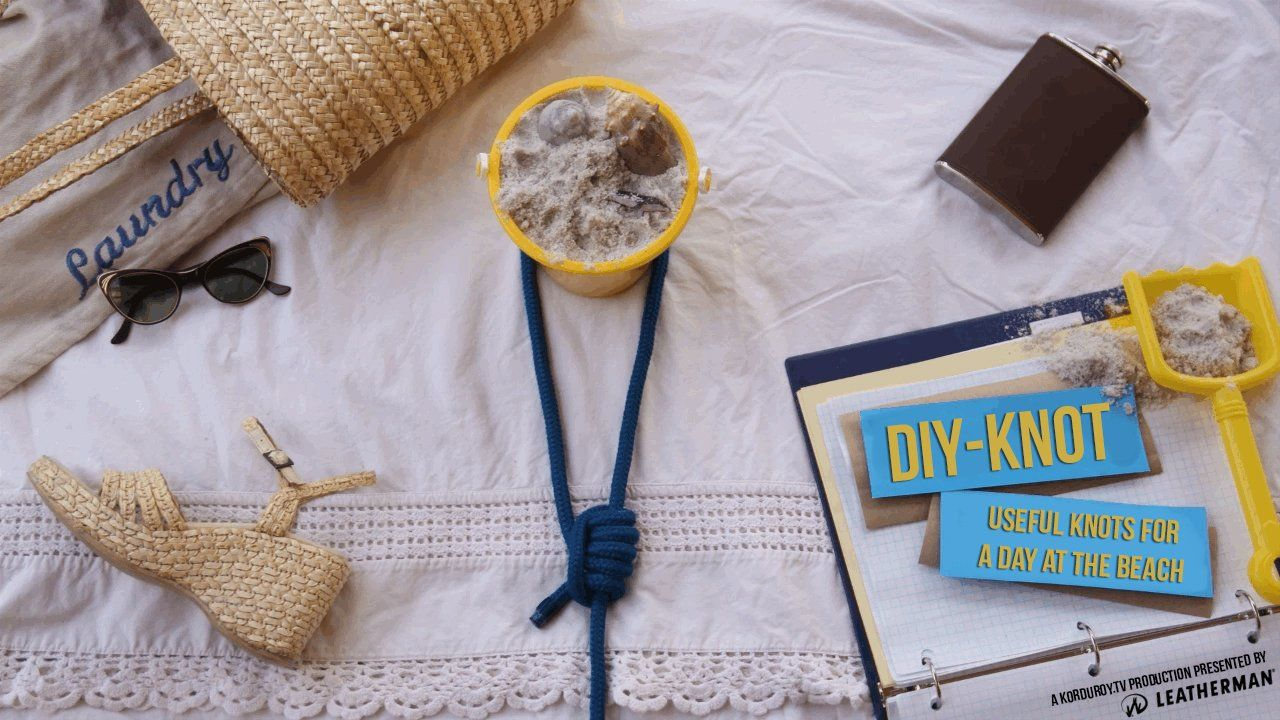 DIY Knot - Useful knots for a day at the beach - D-I-Why Not?. In this episode of D-I-Why Not? aka DIY-Knot presented by Leatherman, James a...