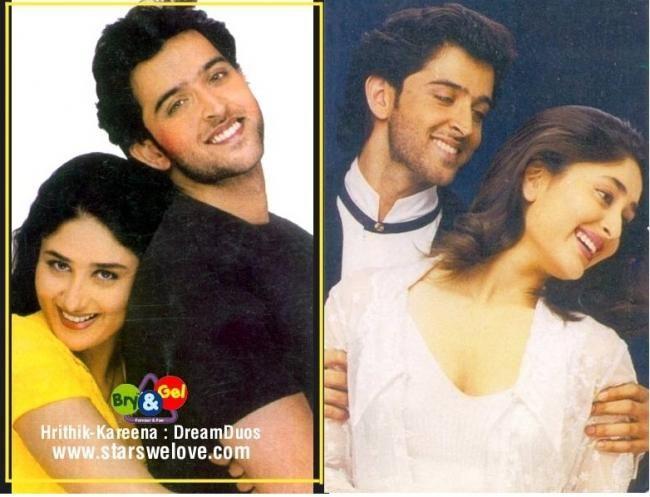 Old Pics Kareena Kapoor Hrithik Roshan S Photoshoot For Kaho Na Pyar Hai Hrithik Roshan Kareena Kapoor Photoshoot