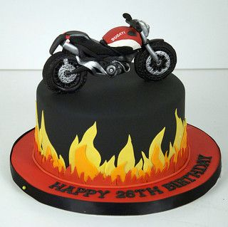 flame ducati motorcycle cake toronto Ducati motorcycles Cake and