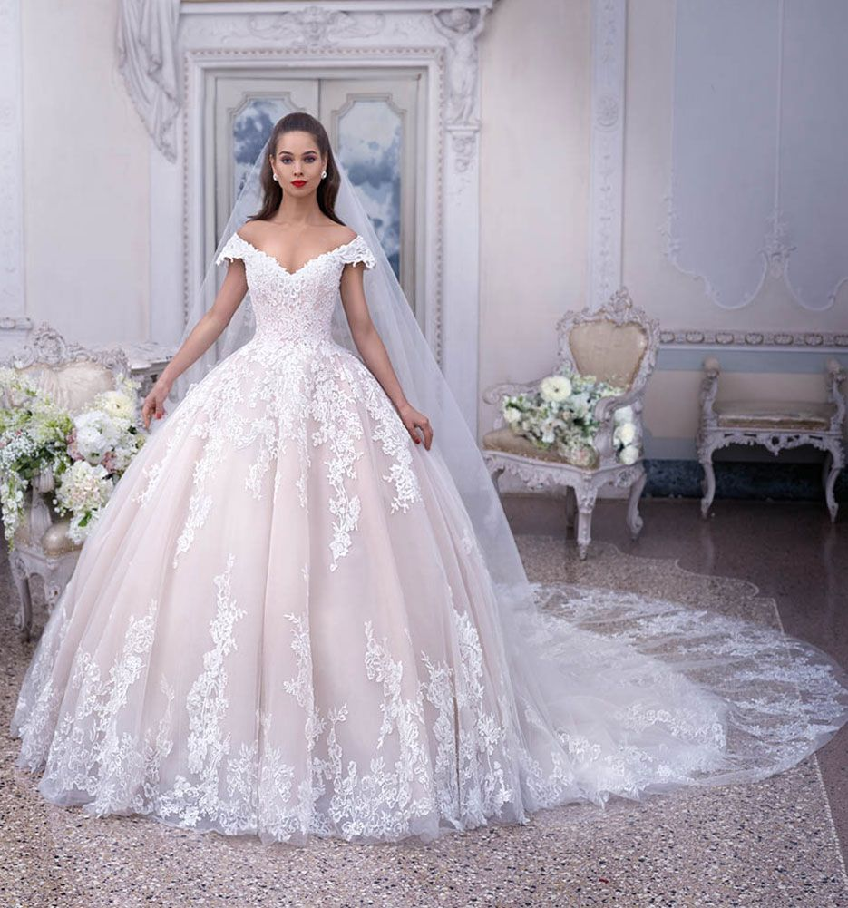 Platinum Wedding Gown: Wedding Dress Style DP377