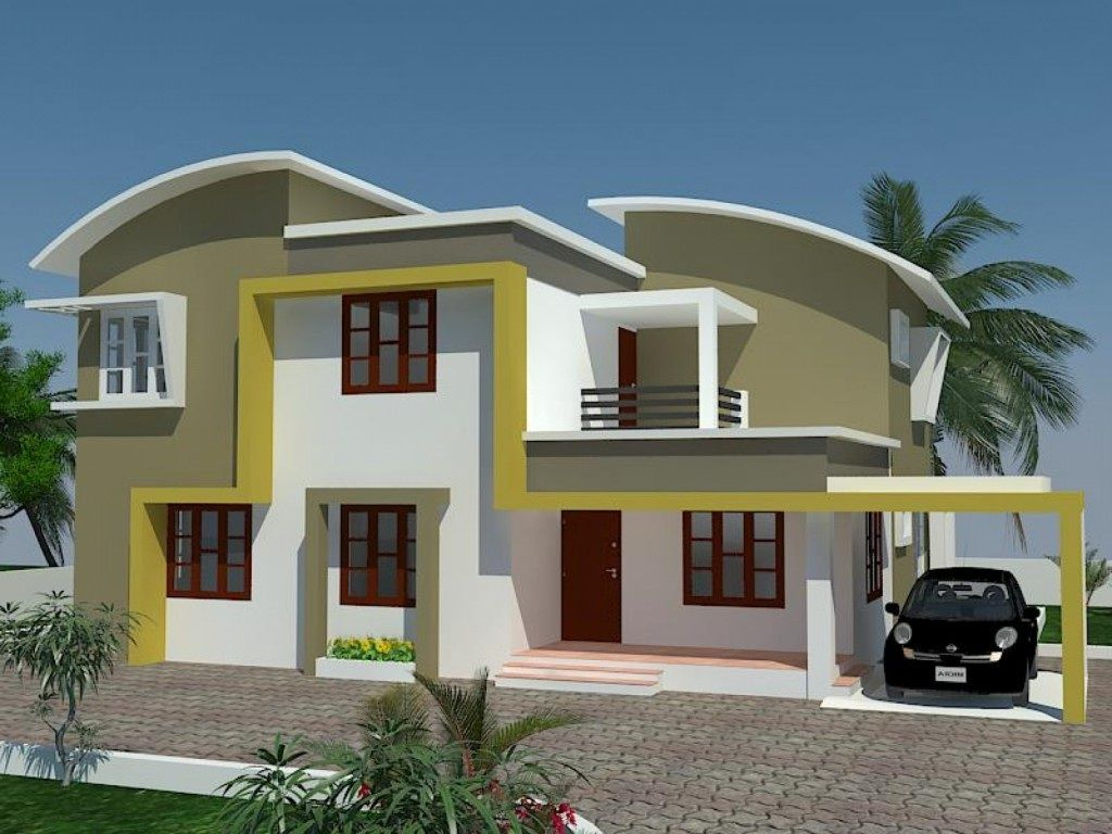 Beautiful exterior house paint colors ideas modern for Home design exterior ideas in india