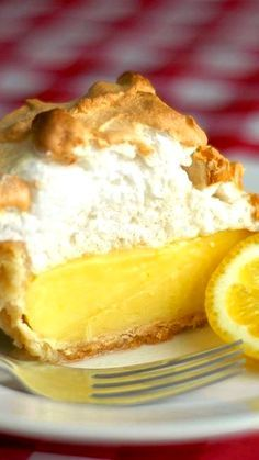 The Very Best Homemade Lemon Meringue Pie #lemonmeringuecheesecake
