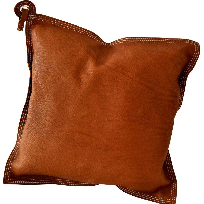 Leather Cushion Brown Byqrj Leather Pillow Leather