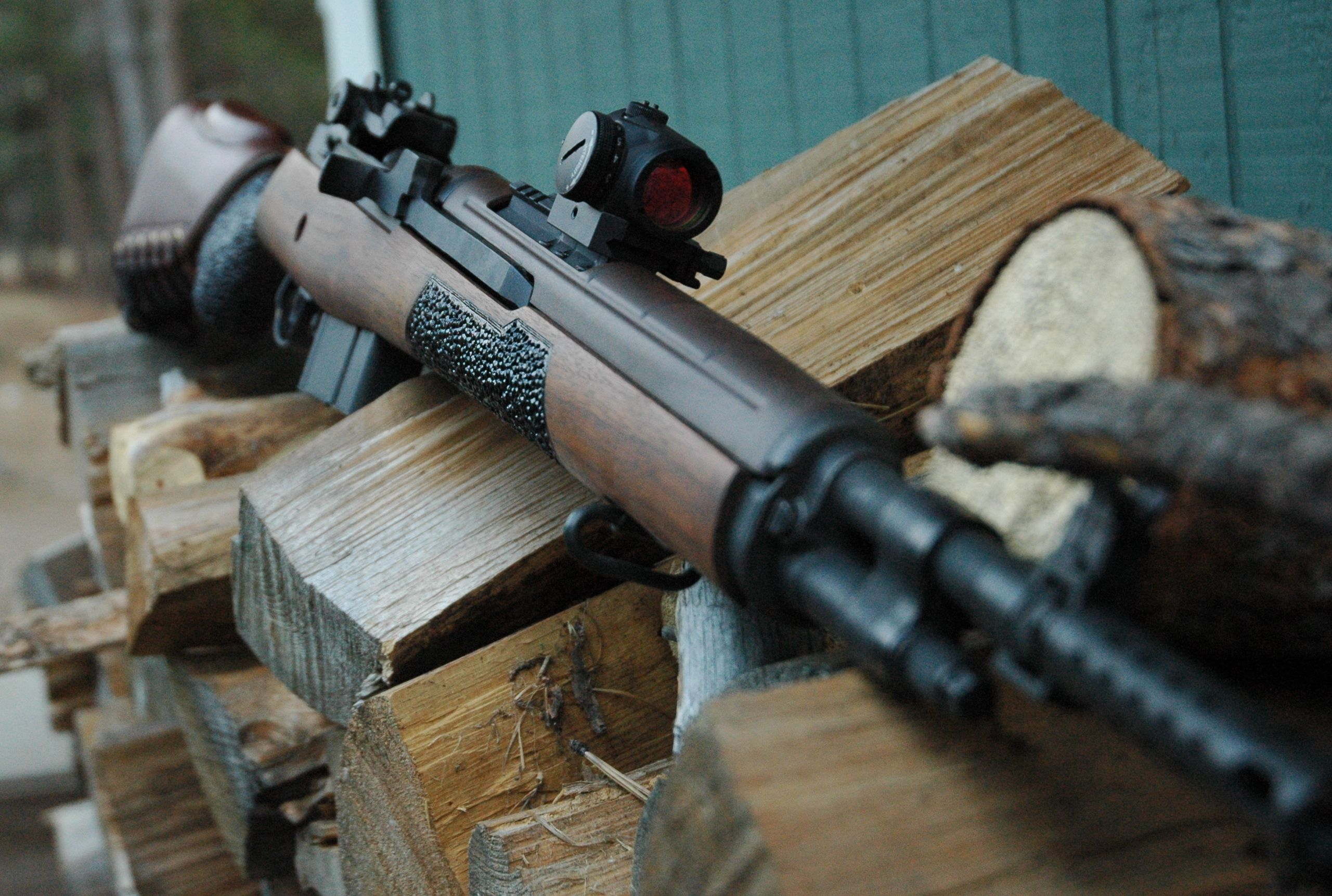 Springfield M14 M1a Scout Aimpoint T1from Twistedwire Tactical