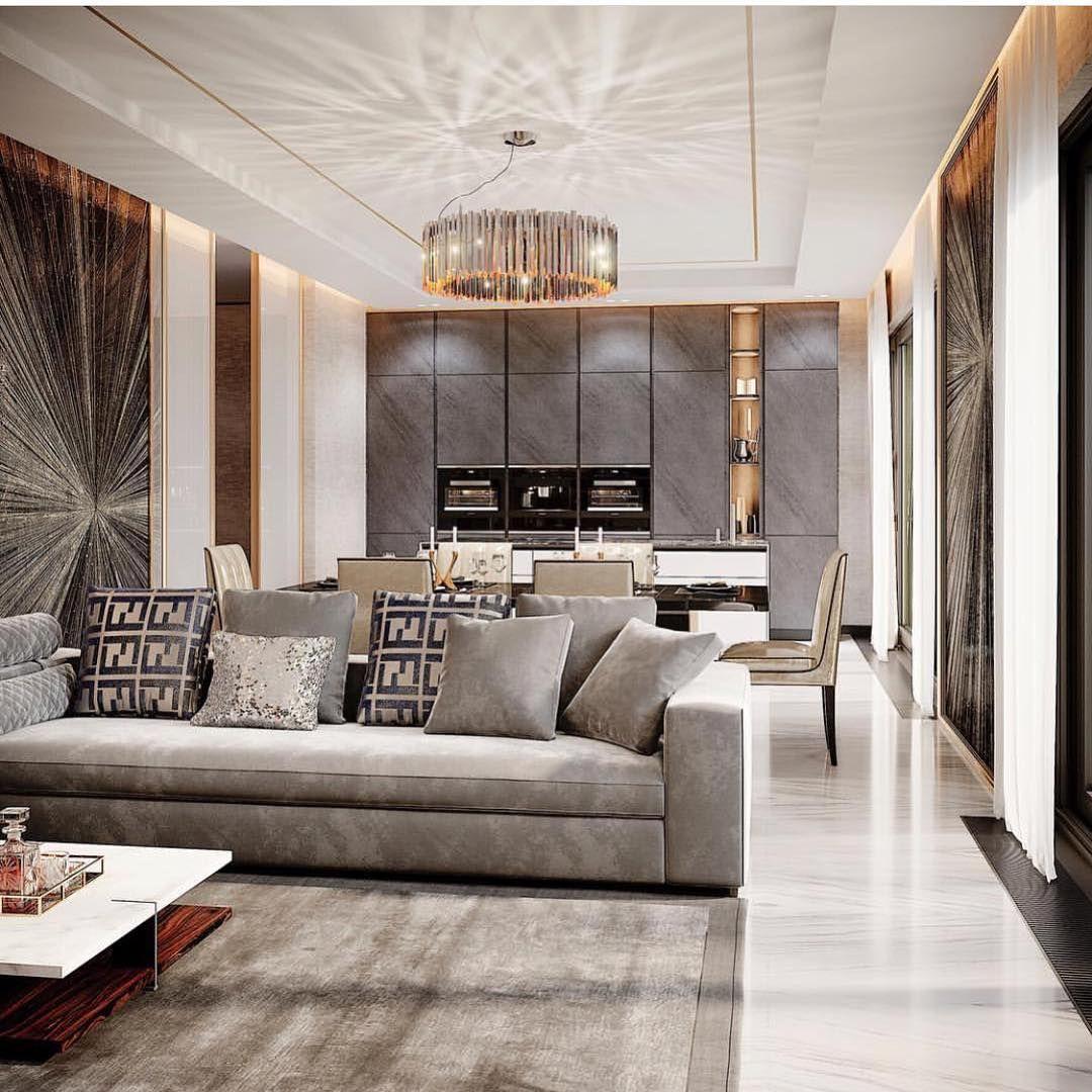 Post-Modern Italian High/Low Ceiling Living Room Pendant ...
