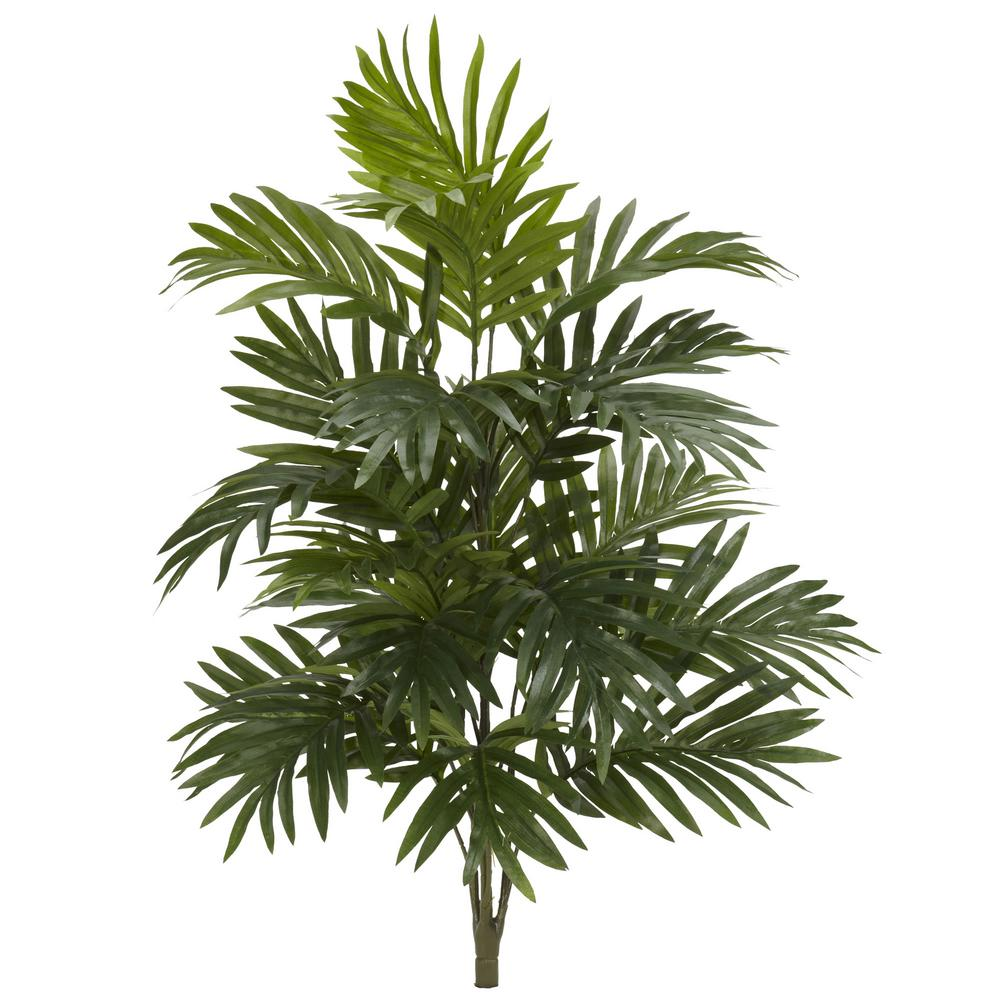 Nearly natural indoor in areca palm artificial plant set