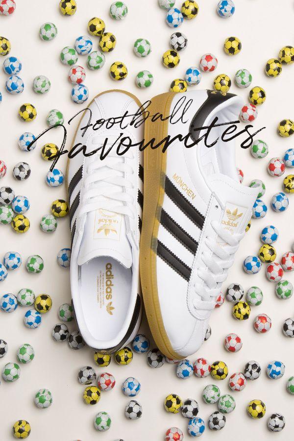 check out 0c50e 6719a adidas Originals Munchen WhiteBlackGum