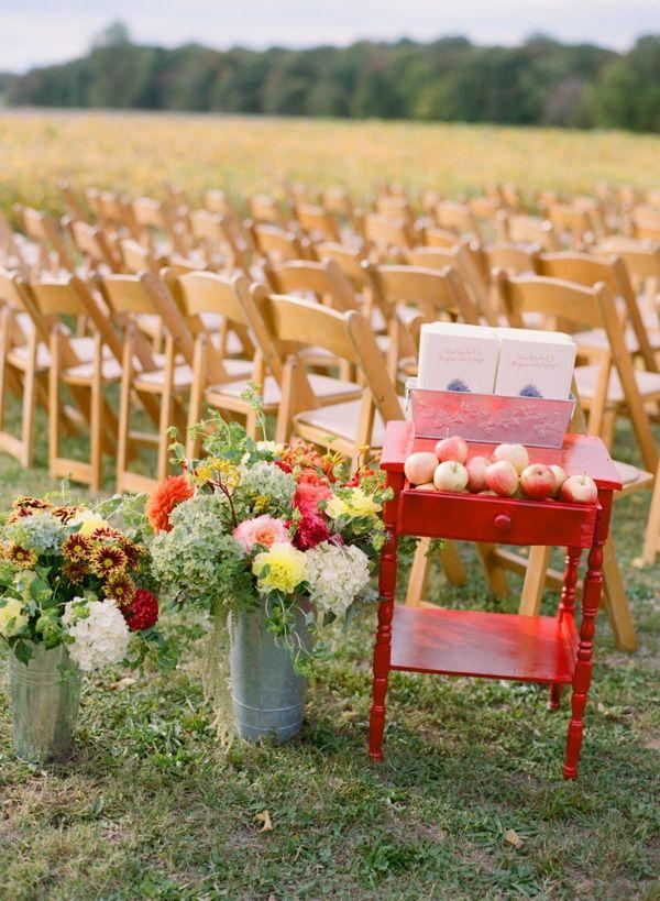 outdoor fall wedding | Abby Jiu #wedding