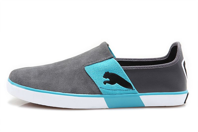 blue puma shoes for men