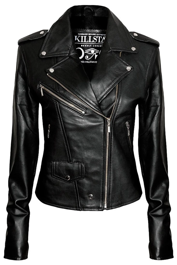Leather Jacket Vegan In 2020 Vegan Leather Jacket Fitted Biker Jacket Leather Jackets Women