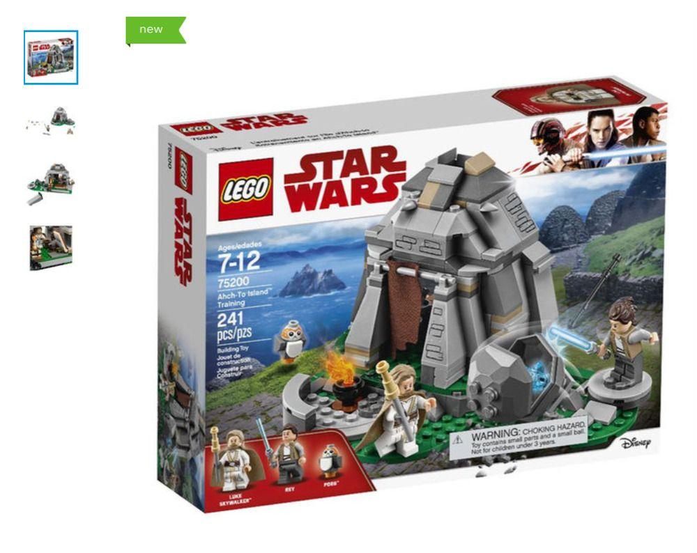 Lego 75200 Star Wars Ahch To Island Training New Lego Lego Star Wars Lego Star Wars Sets Star Wars Memes