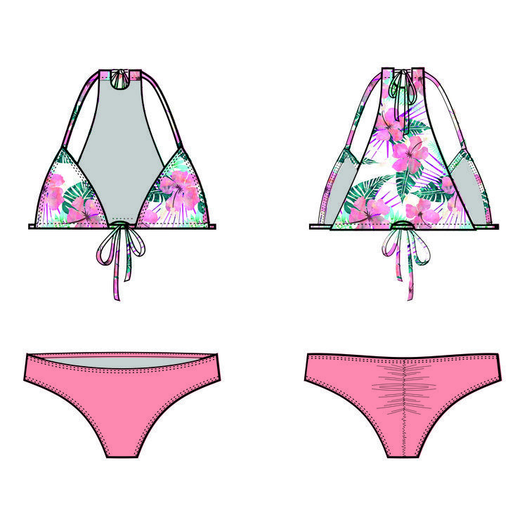 Stella Bikini - Digital Pattern - all sizes included | Pinterest ...