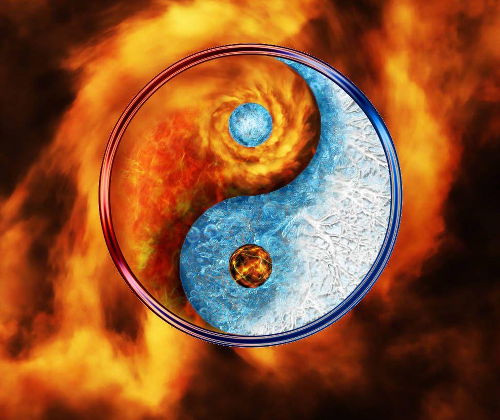Elemental Yin Yang By Skylinepilot On Yin Yang