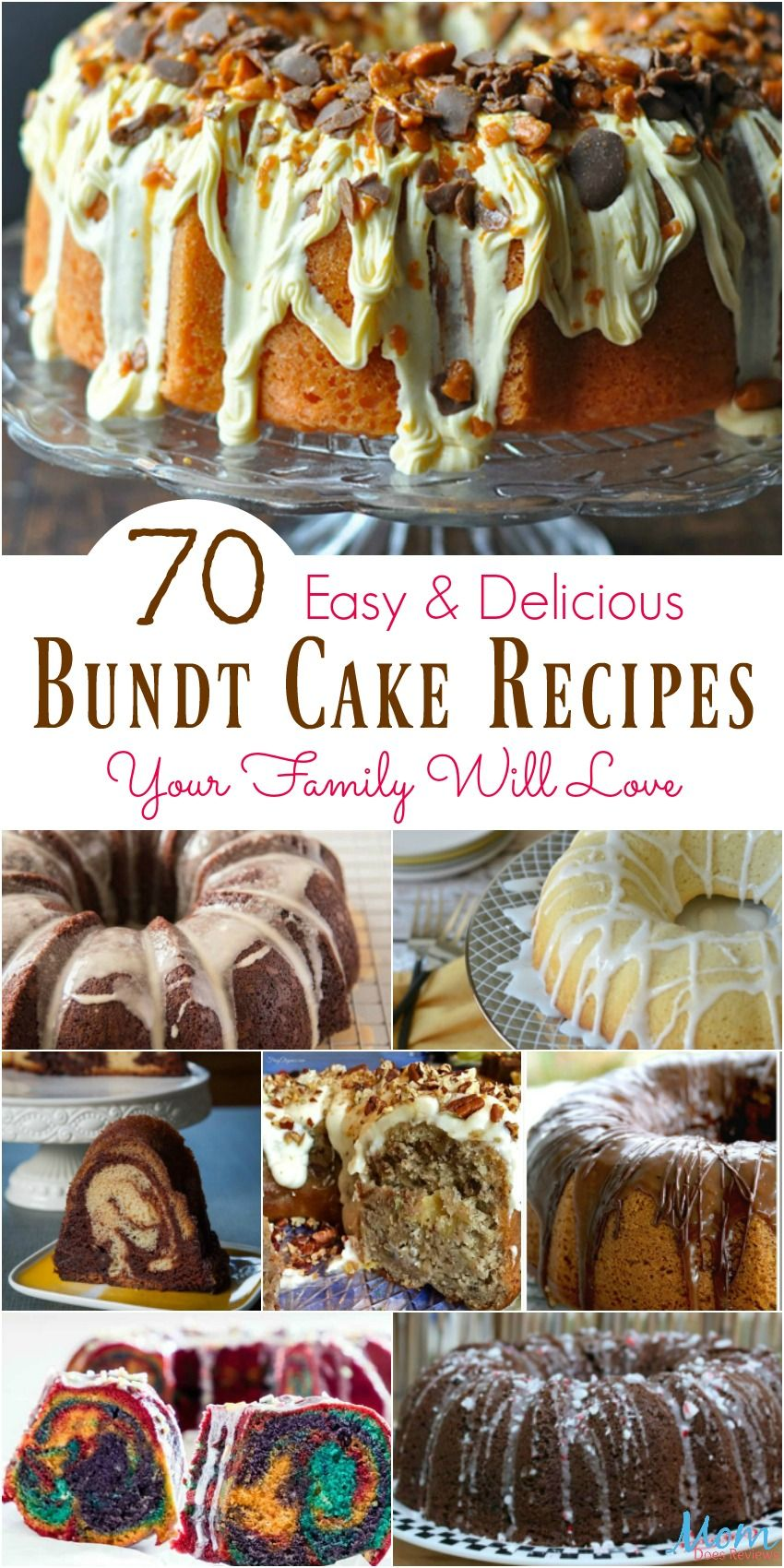 70 Easy & Delicious Bundt Cake Recipes Your Family Will Love