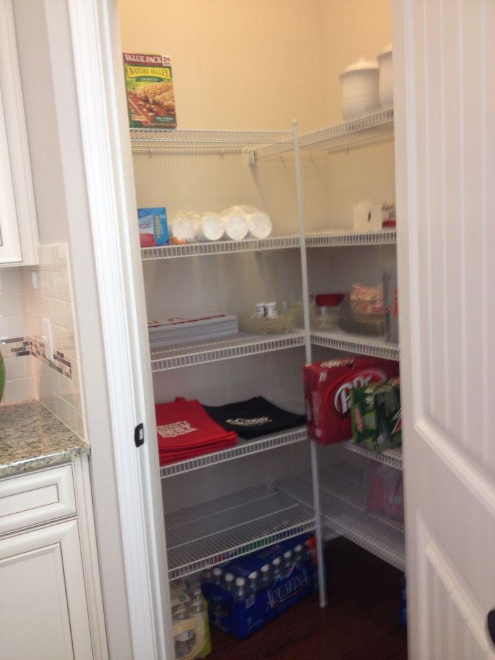 Walk in pantry Dalton floor plan Mungo Homes