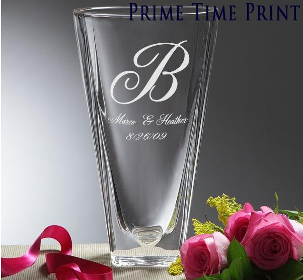 Wedding Glasses Crystal vase, Wedding vases, Flower vases