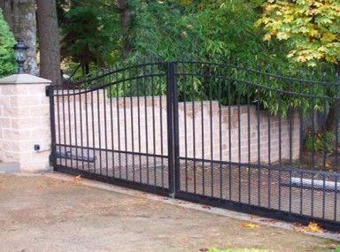 Get Beautiful Fence And Gate Design Ideas Marvellous Ameristar Fence Majestic Page Cancelli Cancelli In Metallo Metallica