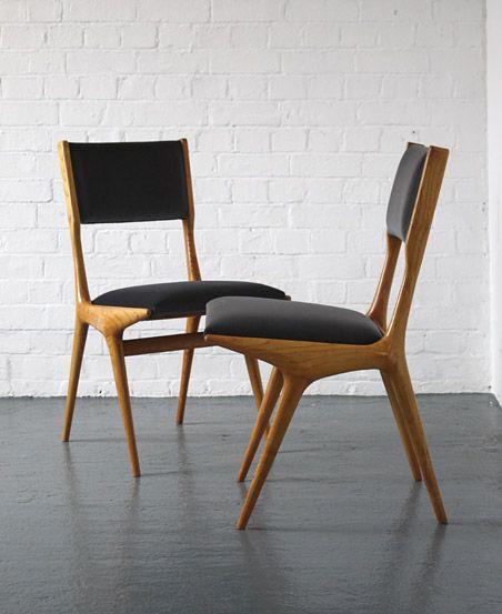 1950s Italian Chairs By Carlo Di Carli