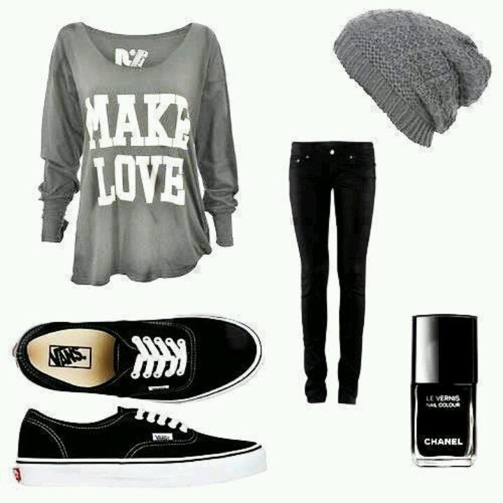 this outfit but with a pair of black uggs