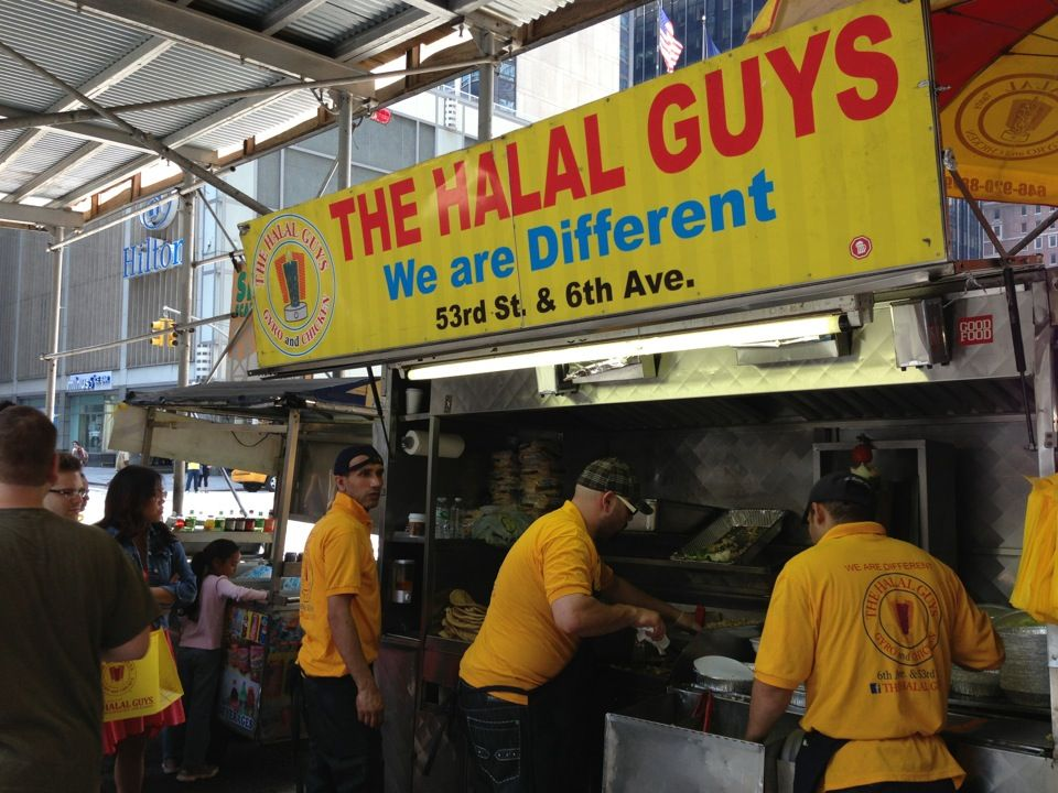The Halal Guys Theater District New York Ny Halal Halal Recipes Nyc Trip