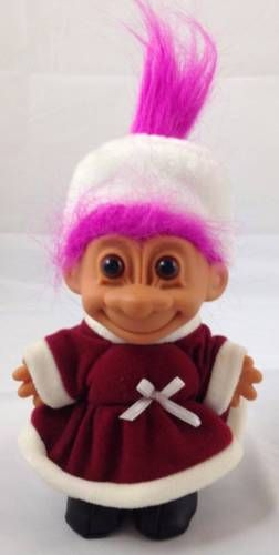 """Russ Troll Doll PINK HAIRED NAKED TROLL 5/"""" NEW IN ORIGINAL WRAPPER Vintage Retro"""