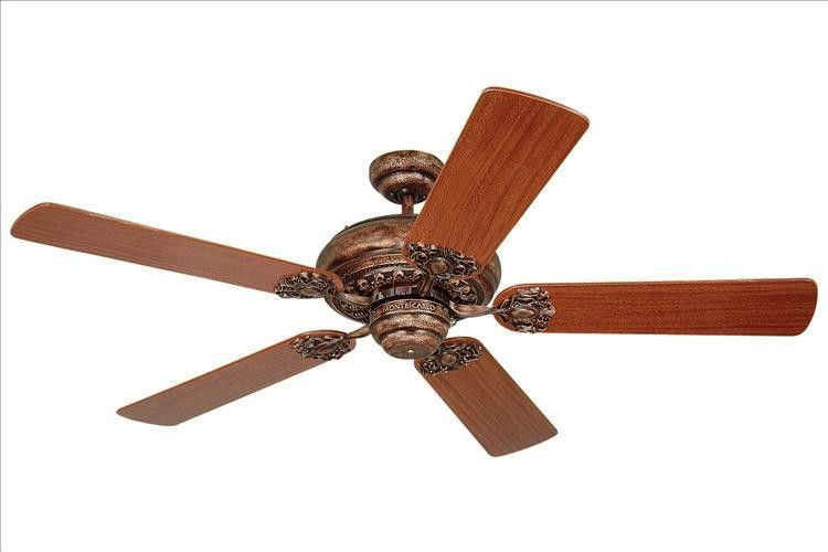 Montecarlo premier 52 5 blade mahogany ceiling fan 5pr52tb montecarlo premier 52 5 blade mahogany ceiling fan 5pr52tb aloadofball Image collections