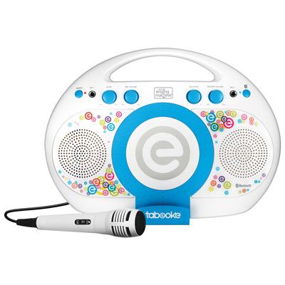 Singing Machine Tabeoke Bluetooth Karaoke System (ISM395BT) #karaokesystem