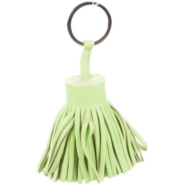 Pre-owned Herm?s Carmen Tassel Keychain ($245) ❤ liked on Polyvore ...