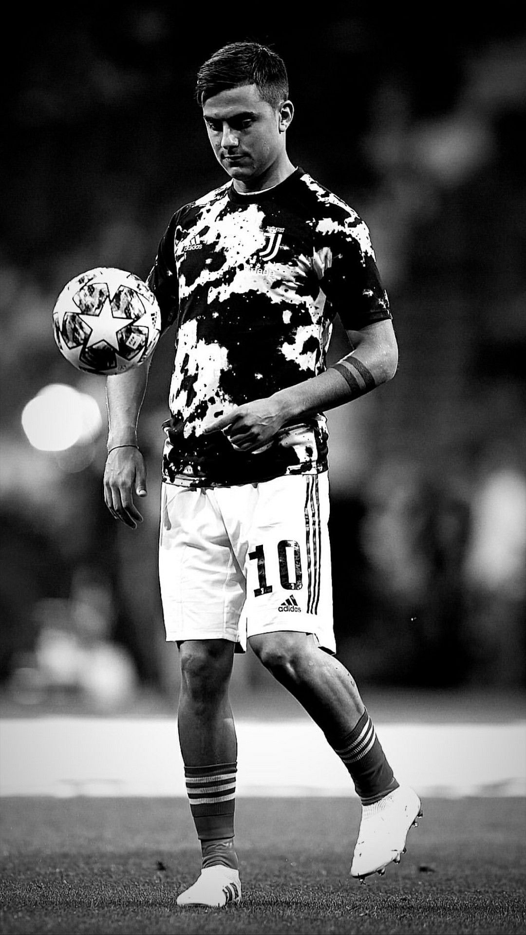 Black And White Football Wallpaper