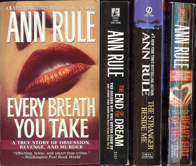 All of Ann Rule's books are great if you like true crime.  I especially like the book-length ones, but the collections of short stories are good as well.
