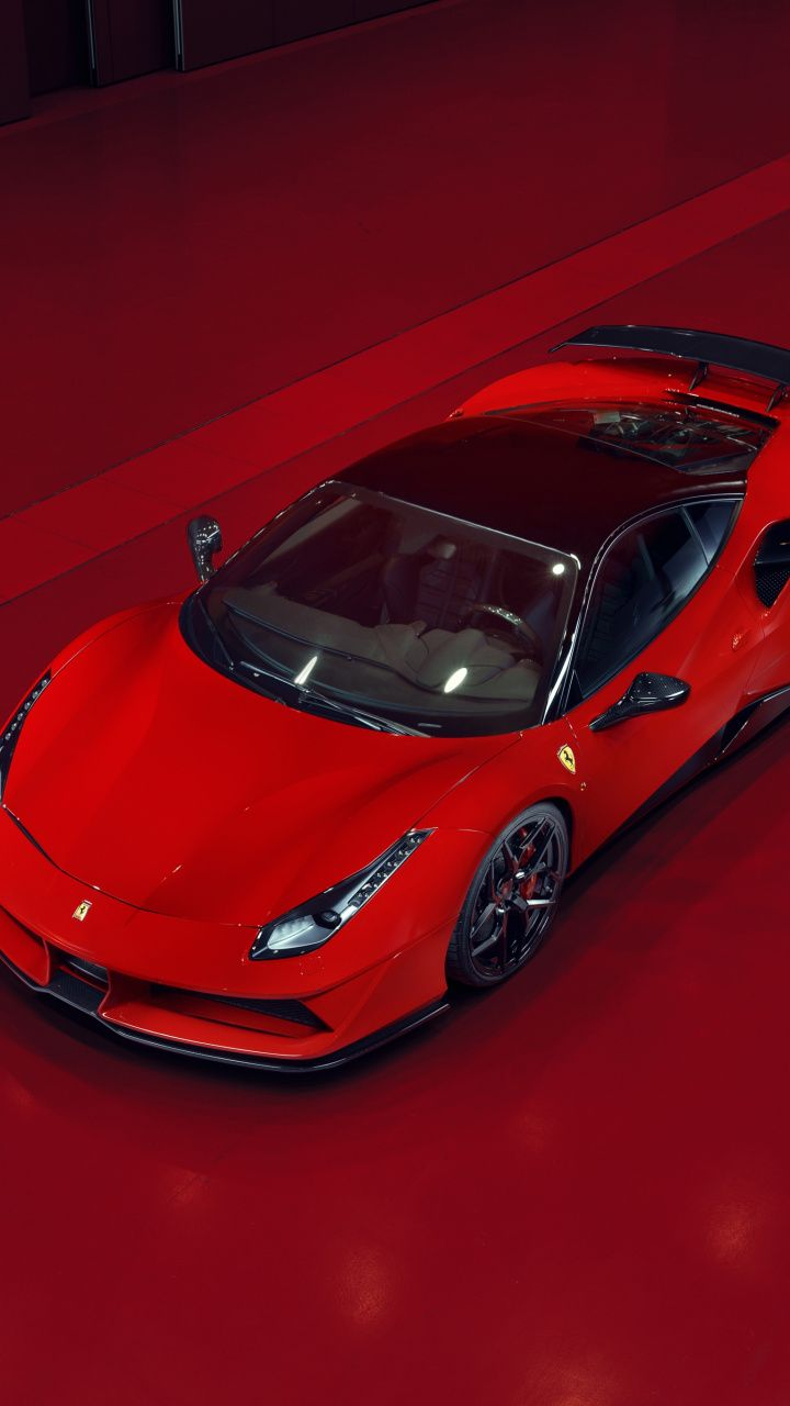 720x1280 Sports Car Ferrari 488 Gtb Red Wallpaper Autos Deportivos Coches Rapidos Coches Deportivos
