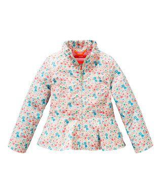 Pink Cat Jacket - Toddler & Girls