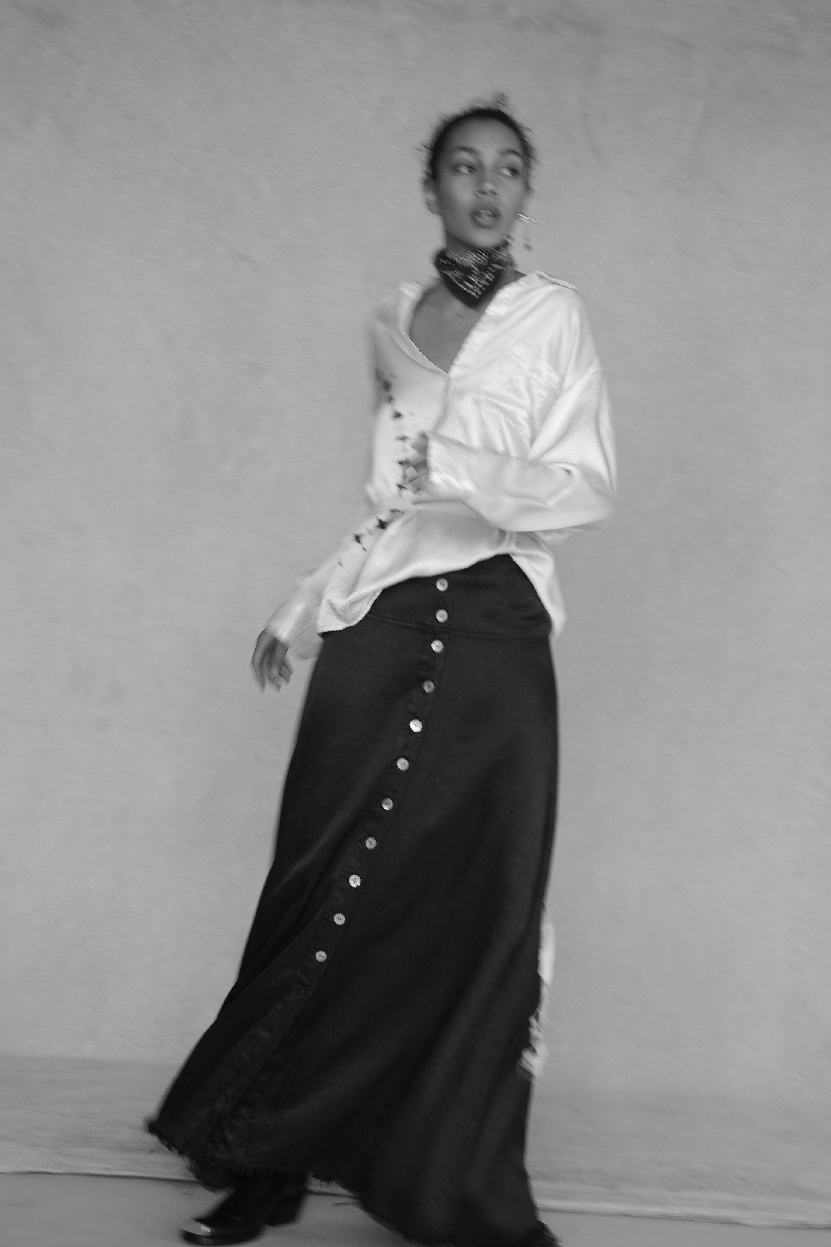 eb61b36d02a3 Raquel Allegra PreFall 2019 Fashion Show style Fashion show
