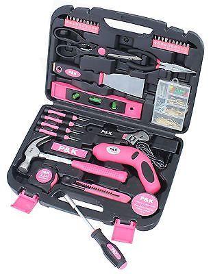Details Zu 135 Teilig Werkzeugset Pink Lady Werkzeugkasten