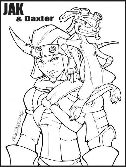 A pretty dern great Jak and Daxter sketch -Will   VIDEOGAMES ...
