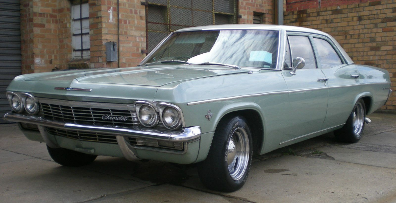1965 Aussie Assembled Chevrolet Belair Factory Right Hand Drive In