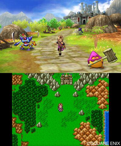 First Dragon Quest Xi Ps4 3ds Screenshots Neogaf Dragon Quest