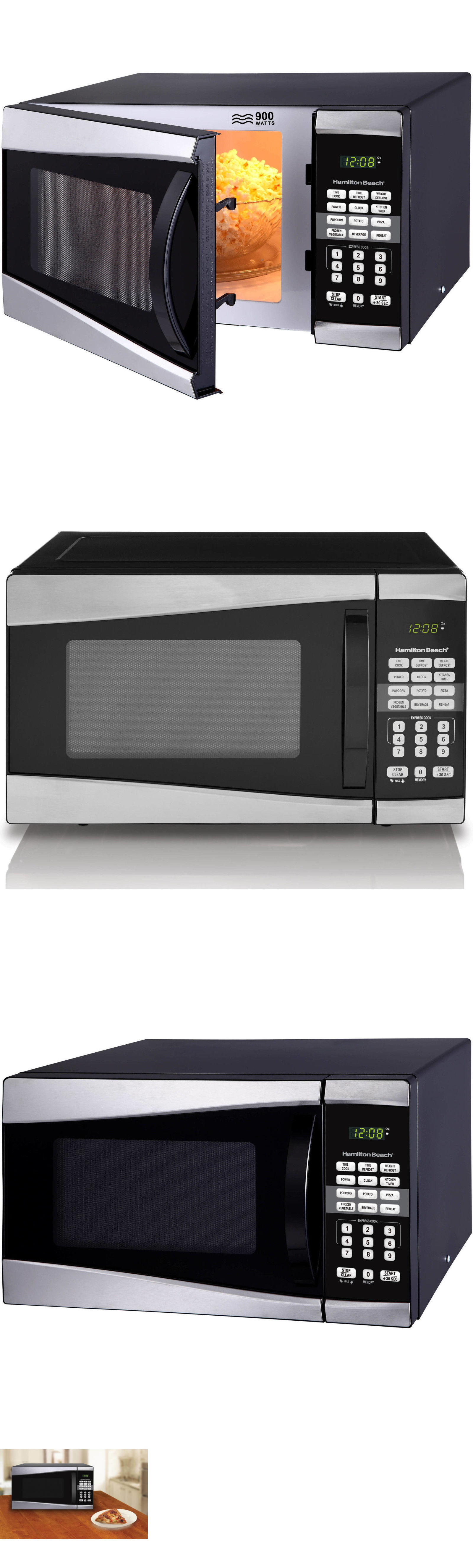 Microwave Ovens 150138 Low Profile Rv Mini Small Best Compact Dorm Kitchen Countertop Oven