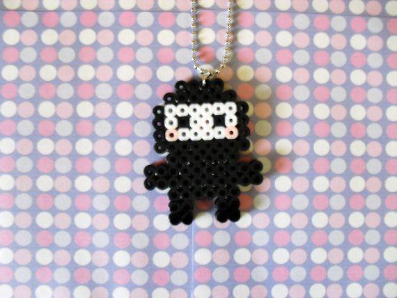 Custom Color Ninja Sprite Necklace