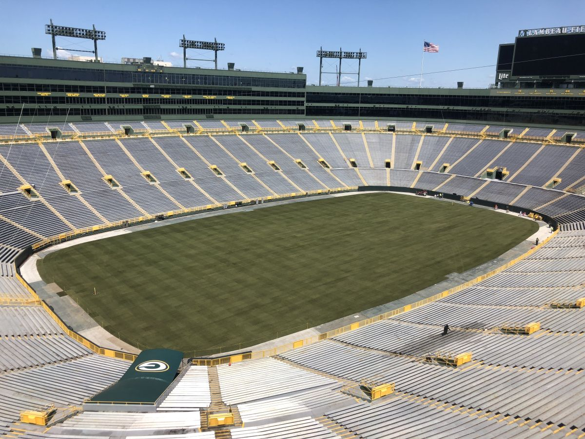 Score A Win With A Tour At The Packers Lambeau Field Lambeau Field Field Midwest Travel