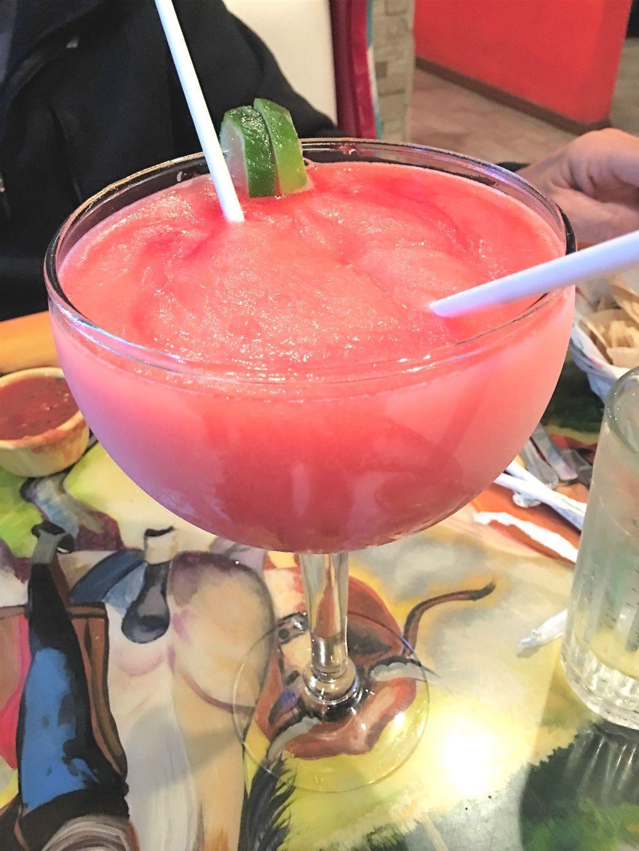 Mr Tequila Frozen Strawberry Margarita For Two Mexican Restaurant Chips And Salsa Frozen Strawberry Margarita