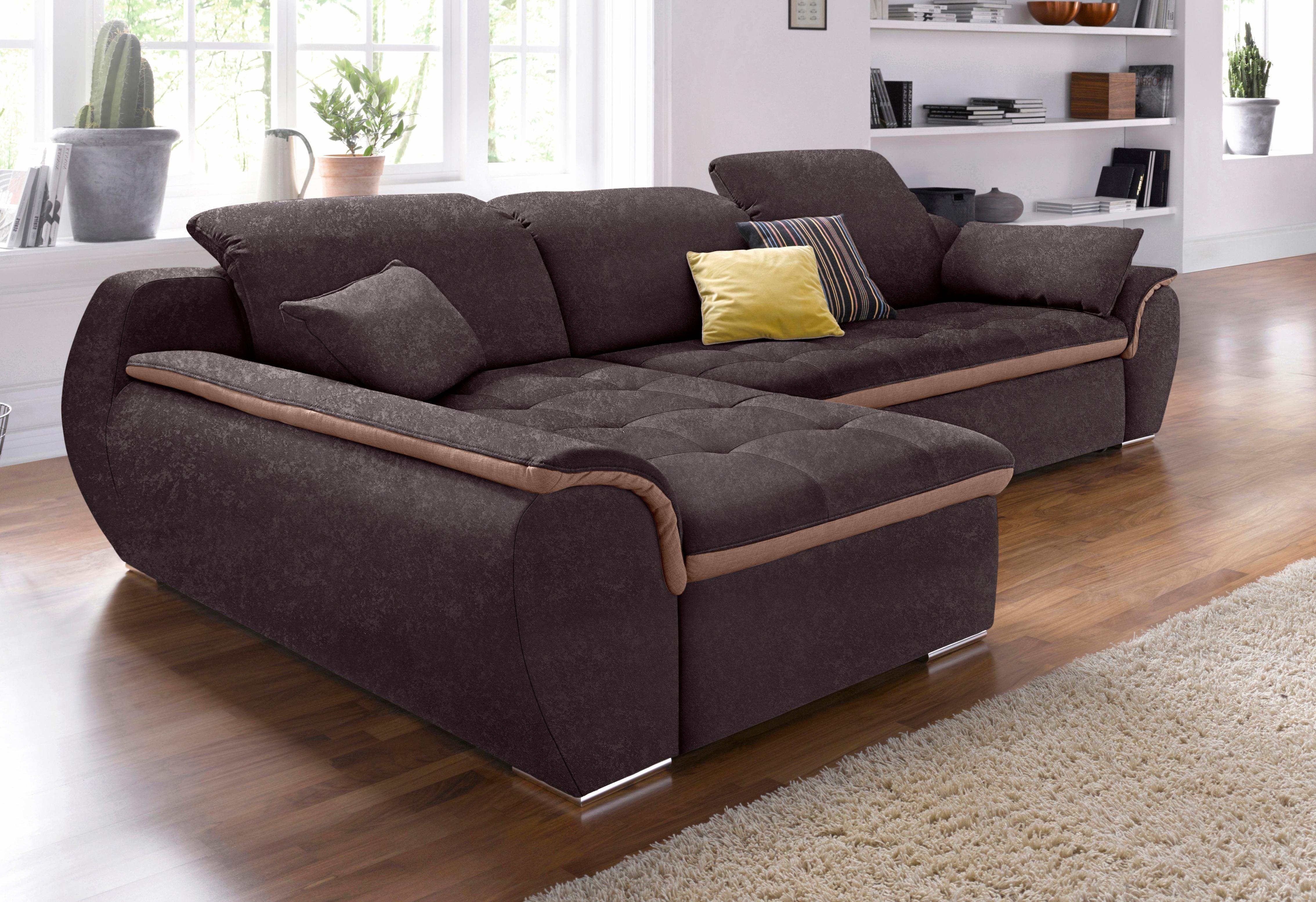 Wohnzimmer Garnituren ~ Raum.id polstergarnitur braun recamiere links fsc® zertifiziert