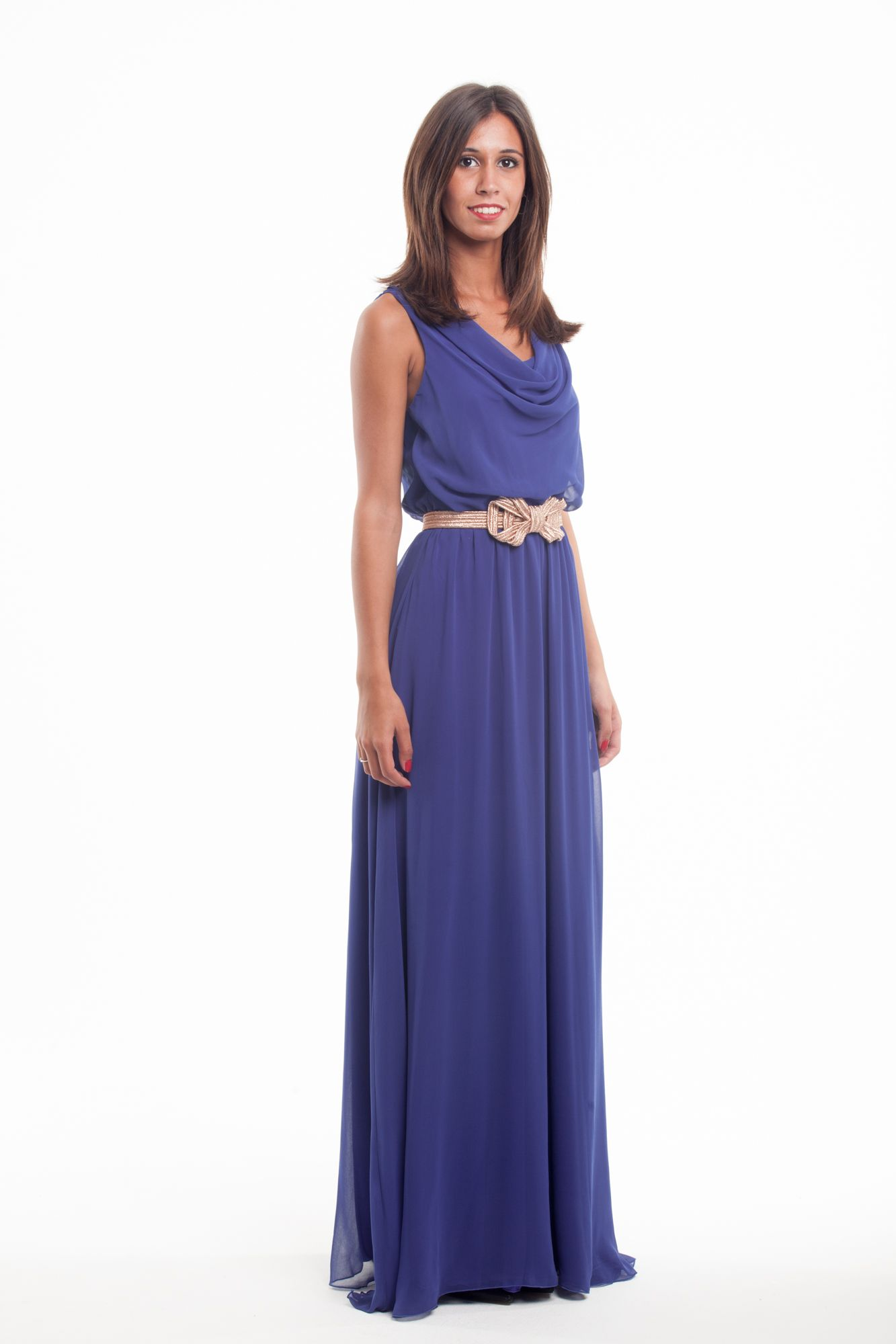 Vestido modelo Dórico de Poète | Vestidos largos en alquiler ...