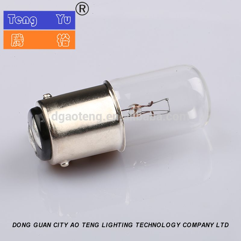 T16 45mm High Low Voltage Indicator Bulb Tungsten Filament Lamp Bulb Tungsten Lamp