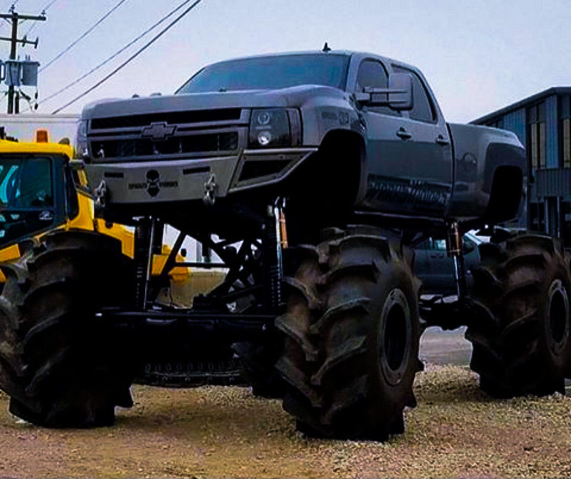 Chevrolet silverado monster pick up truck http chevrolet com
