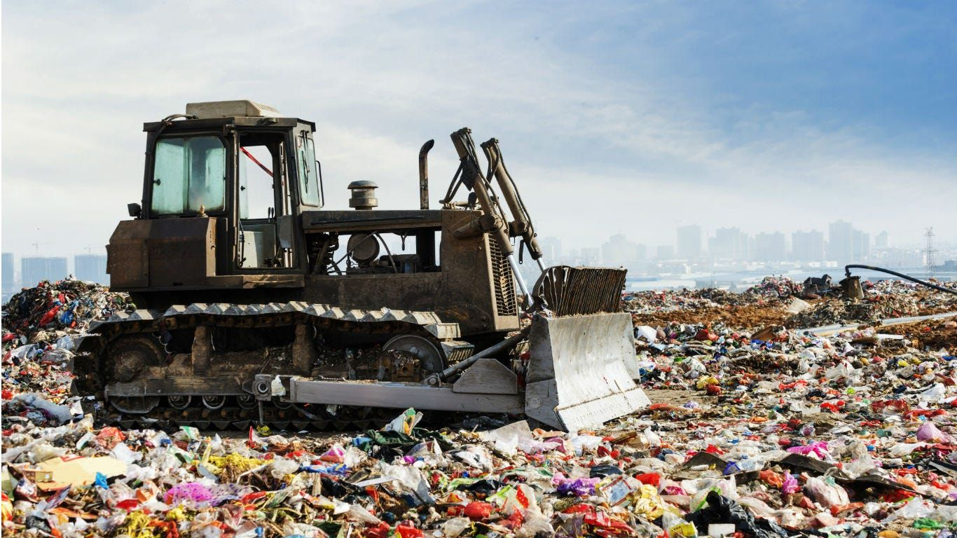 Canada produces the most waste in the world. The US ranks