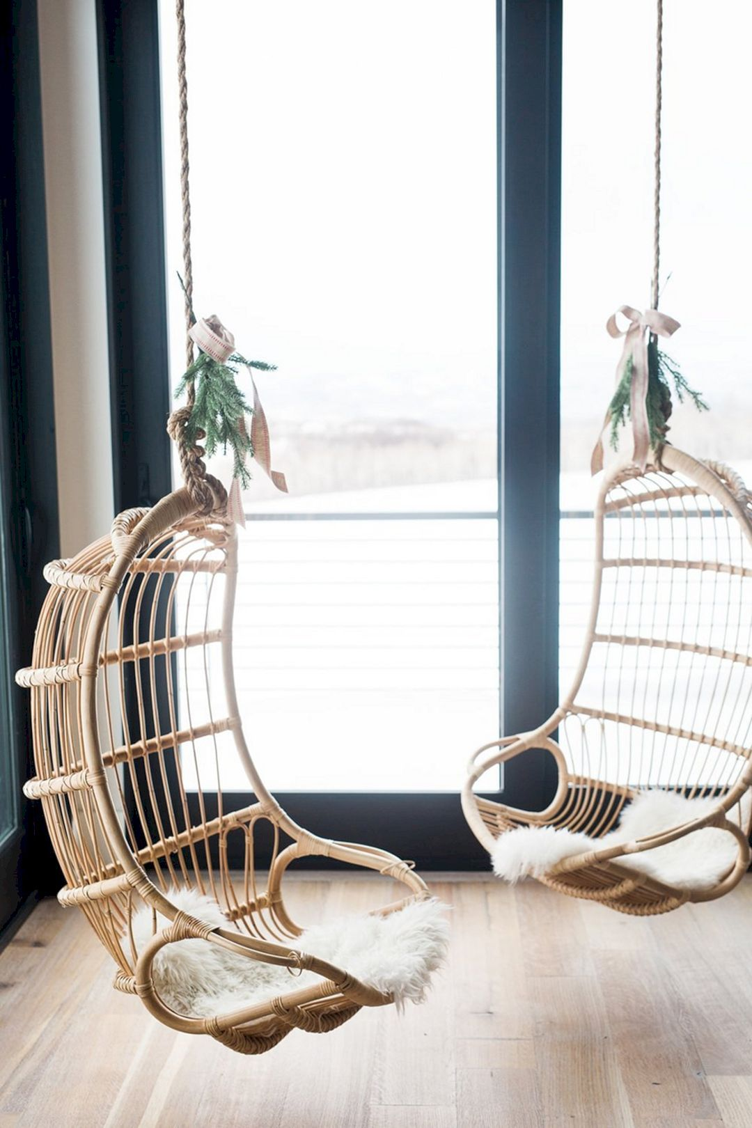 Super cozy hanging rattan chairs best ideas for your perfect