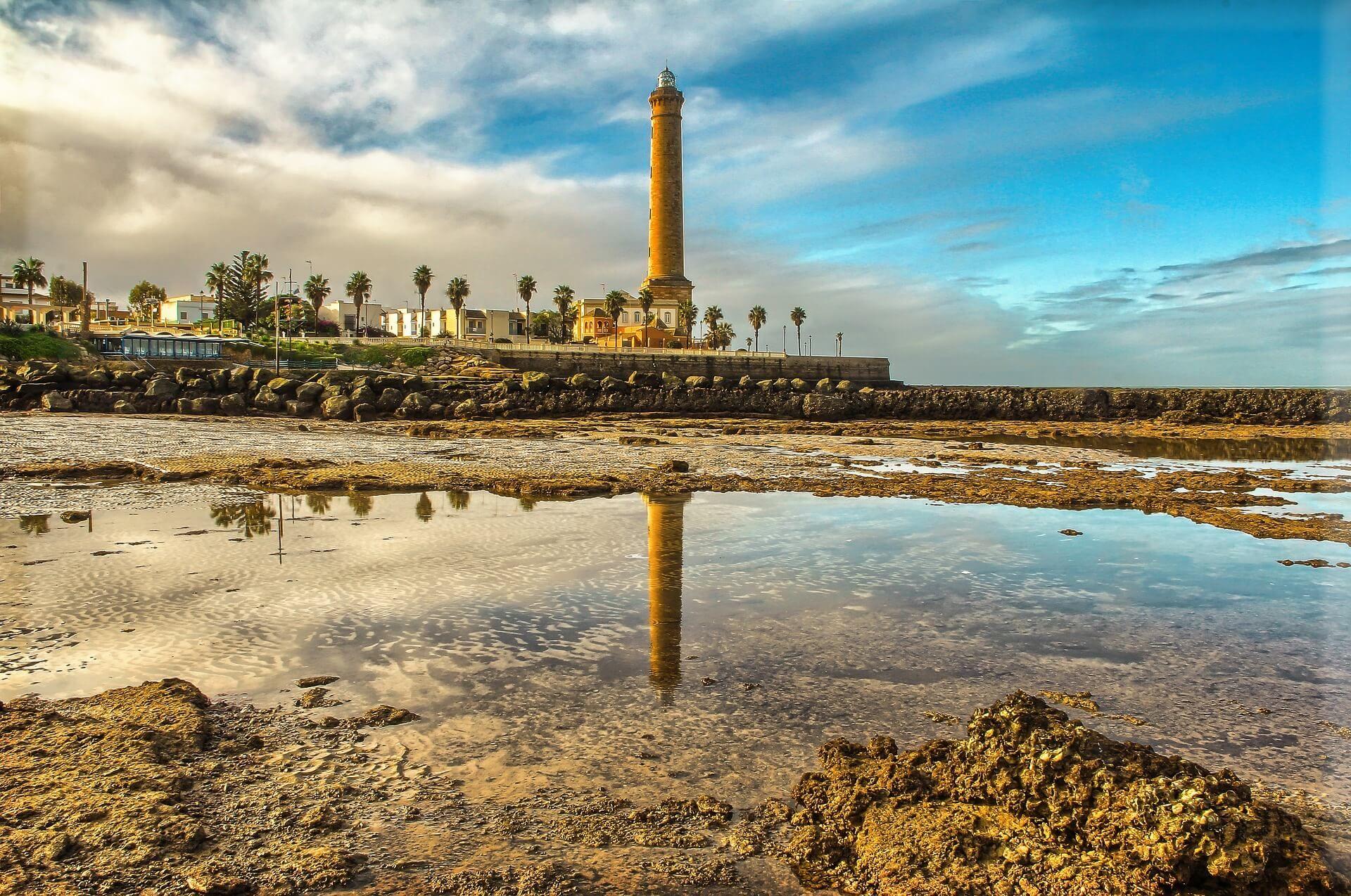 Playa De Las Canteras De Chipiona Que Ver En Cadiz Cádiz Playa Cadiz